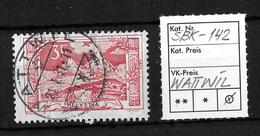 1914-1931 GEBIRGSLANDSCHAFTEN → SBK-142, WATTWIL 21.I.31 - Gebraucht