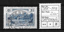 1914-1931 GEBIRGSLANDSCHAFTEN → SBK-178, SAFENWIL 18.III.30 - Gebraucht