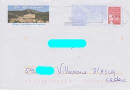 PAP Luquet RF Format C6 Repiqué: Le Barroux (84): Château Et Village :ayant Voyagé