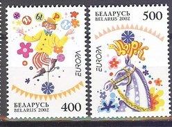 BELARUS BIELORUSSIE WEISSRUSSLAND  EUROPA CEPT 2002 Serie/set, Neuf/mint/ungestemp.