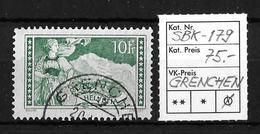 1914-1931 GEBIRGSLANDSCHAFTEN → SBK-179, GRENCHEN - Gebraucht