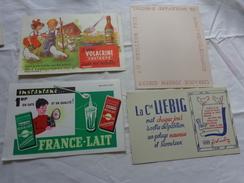 4 Buvards -librairie Joseph Gibert-liebig-lait--le Vrai Volacrine Sauve Les Volailles Poussins Enfant - Buvards, Protège-cahiers Illustrés