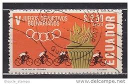 1968 ÉQUATEUR Ecuador  Vélo Cycliste Cyclisme Bicycle Cycling Fahrrad Radfahrer Bicicleta Ciclista Ciclismo [ct64]