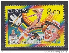 RUSSIE RUSSIA RUSSLAND CEPT Set Serie  2002, Neuve/mint