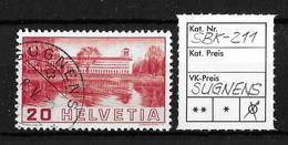 1938 BILDER DER VÖLKERBUNDS- UND ARBEITSAMTSGEBÄUDE ►SBK-211→SUGNENS 8.V.39◄ - Gebraucht