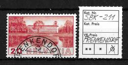 1938 BILDER DER VÖLKERBUNDS- UND ARBEITSAMTSGEBÄUDE ►SBK-211→FRENKENDORF◄ - Gebraucht