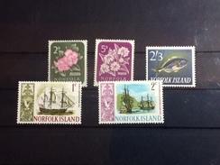 86115) Loltto Di Francobolli Di Norfolk-nuovi  MNH** - Isola Norfolk