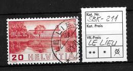 1938 BILDER DER VÖLKERBUNDS- UND ARBEITSAMTSGEBÄUDE ►SBK-211→LE LIEU 21.XI.3....◄ - Gebraucht