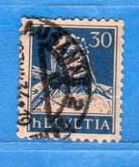 SUISSE ° - 1932-33 /Buste De Tell - Zum.160z / Mi169z-. GRILLée. 2 Scan.  Cat. Zum. 2016  CHF. 5,00.    Vedi Descri