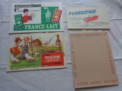 4 Buvards -librairie Joseph Gibert-poivrossage-lait--le Vrai Volacrine Sauve Les Volailles Poussins Enfant - Buvards, Protège-cahiers Illustrés
