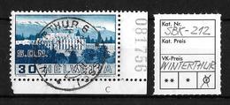 1938 BILDER DER VÖLKERBUNDS- UND ARBEITSAMTSGEBÄUDE ►SBK-212 → WINTERTHUR 11.V.38◄ - Gebraucht