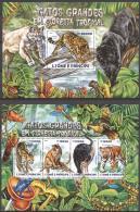 Sao Tome E Principe 2015 - MNH - Animals, Leopard, Tiger