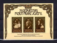 75° Du Prince François-Joseph De Liechtenstein, 7 X  BF 14**, Cote 35 €,