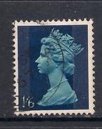GB 1967 - 70 QE2 1/6d Greenish Blue Machin SG 743 ( L183 )