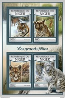 NIGER 2017 - Big Cats. Official Issue