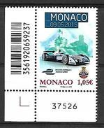 Monaco 2015 - Yv N° 2977 ** - MONACO E PRIX - Unused Stamps