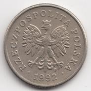 @Y@    Polen   50 Groszy   1992       (4685) - Polen