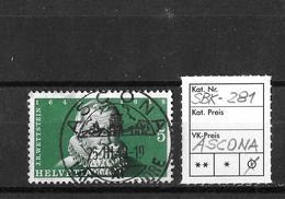 1948  100 JAHRE SCHWEIZERISCHER BUNDESSTAAT → J.R.Wettstein SBK-281, ASCONA 25.III.48 - Suisse