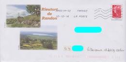 PAP Beaujard Repiqué: Rieutort-de-Randon (48): Calvaire Et Paysage :AyantVoyagé