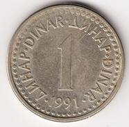 @Y@   Joegoslavië  1 Dinara  1991          (4692) - Joegoslavië