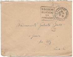 LF 891  Enveloppe En Franchise Militaire Avec Daguin De St Gaudens De 1940