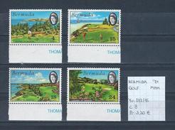 Bermuda 1971 - Yv. 272/75 Postfris/neuf/MNH