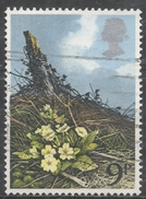Great Britain 1979, Scott #855 British Wild Flowers, Primroses (U)