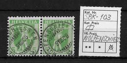 1907-1909 TELLKNABE (neue Zeichnungen) → SBK-103, WOLFENSCHIESSEN 9.VIII.08 - Gebraucht