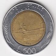 @Y@   Italië  500  Lire  1992          (4697) - 500 Lire