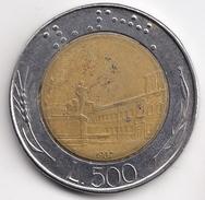 @Y@   Italië  500  Lire  1987          (4698) - 500 Lire