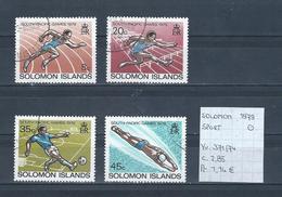 Solomon 1979 - Yv. 371/74 Gestempeld/oblitéré/used