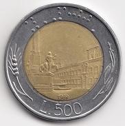 @Y@   Italië  500  Lire  1989          (4699) - 500 Lire