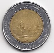 @Y@   Italië  500  Lire  1983          (4700) - 500 Lire
