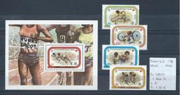 Turks & Caicos 1978 - Yv. 408/11 + Blok 12 Postfris/neuf/MNH