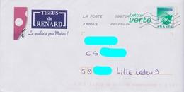 PAP LV Logo VertVert Repiqué: Tissus Du Renard - La Qualité à Prix Malins :AyantVoyagé