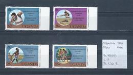 Oeganda 1978 - Yv. 160/63 Postfris/neuf/MNH