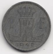@Y@  België  1 Frank  1942           (4702) - 1934-1945: Leopold III