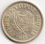 @Y@  Cyprus  2 Cent  1985          (4703) - Cyprus