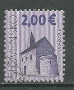 Slowakije, Mi 604  Jaar 2009, Hoge Waarde, Gestempeld Zie Scan - Oblitérés