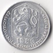 @Y@  Tsjechoslowakije  10 Haleru  1986           (4704) - Tsjechoslowakije