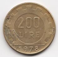 @Y@   Italië   200 Lire  1978           (4706) - 200 Lire