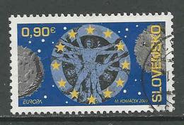 Slowakije, Mi 615  Jaar 2009, Europa Cept,  Hogere Waarde, Gestempeld Zie Scan - Slovaquie