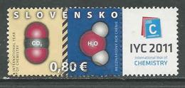 Slowakije, Mi 652  Jaar 2011,  Gestempeld Zie Scan - Slovaquie