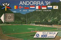 TELECARTE ANDORRE USAGE LUXE - Andorre