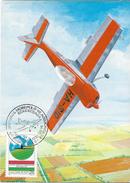 HUNGARY - 1984.Maximum Card - Aerobatic Championship / Airplane Mi 3691. - Aviones