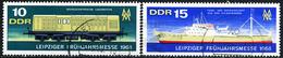 DDR - Michel 1349 / 1350 - OO Gestempelt (C) - Leipziger Frühjahrsmesse 68