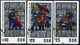 DDR - Michel 1346 / 1348 - OO Gestempelt (A) - Sachsenhausen