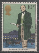 Great Britain 1979, Scott #871 Sir Rowland Hill (1795-1879), Originator Of Penny Postage (U)