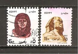 Egipto - Egypt. Nº Yvert  1475-76 (usado) (o) - Egypt