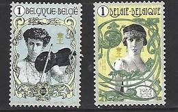 N° 4520-4521  **  Reine Elisabeth  Année 2015